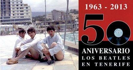 50 Aniversario de la visita de los Beatles a Tenerife