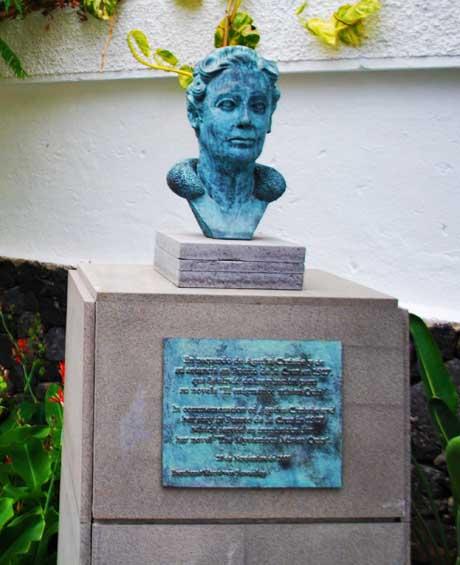 Agatha Cristie en Puerto de la Cruz