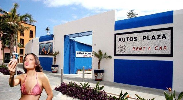 Selfie alquiler de coches en Tenerife Garaje
