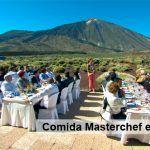 Tenerife y su gastronomía en Masterchef