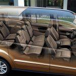 Para el alquiler de coches 7 plazas en Tenerife,VW Caddy