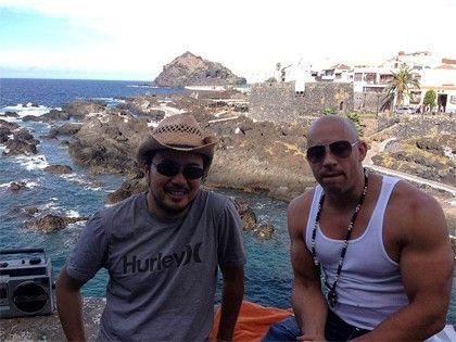 Vin Diesel en Tenerife